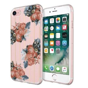 iPhone SE (2020)/8/7 Incipio Design Series Deksel Rustic Floral