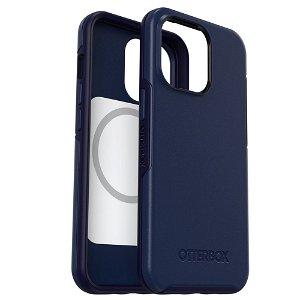 OTTERBOX iPhone 13 Pro Symmetry+ (Plus) Series MagSafe Kompatibel Bakdeksel - Navy Captain