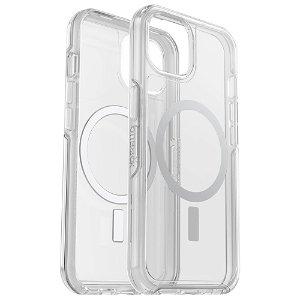 OTTERBOX iPhone 13 Symmetry+ (Plus) Series MagSafe Kompatibel Bakdeksel - Gjennomsiktig