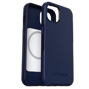OTTERBOX iPhone 13 Symmetry+ (Plus) Series MagSafe Kompatibel Bakdeksel - Navy Captain