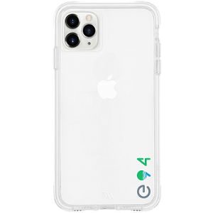 iPhone 11 Pro Case-Mate ECO94 Miljøvennlig Deksel - Gjennomsiktigt