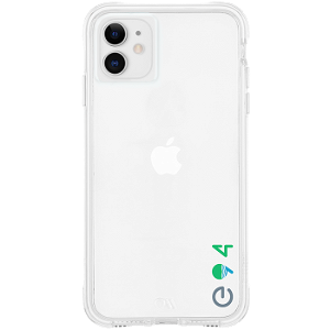 iPhone 11 Case-Mate ECO94 Miljøvennlig Deksel - Gjennomsiktigt