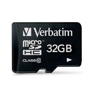 Verbatim Premium microSDHC klasse 10 minnekort med 32 GB