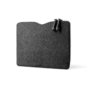 "Mujjo Sleeve 13"" - Folio Sleeve til MacBook 13"" - Svart"