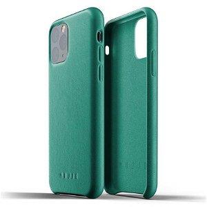 Mujjo iPhone 11 Pro Leather Case Grønn