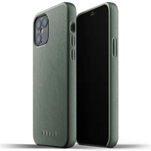 Mujjo iPhone 12 / 12 Pro Skinndeksel - Grønn