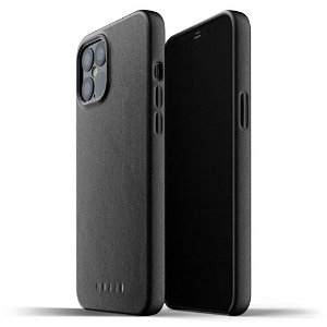 Mujjo iPhone 12 Pro Max Skinndeksel - Svart