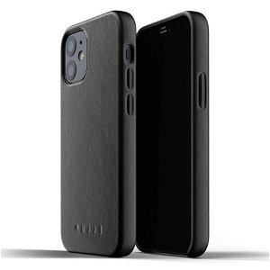 Mujjo iPhone 12 Mini Skinndeksel Svart