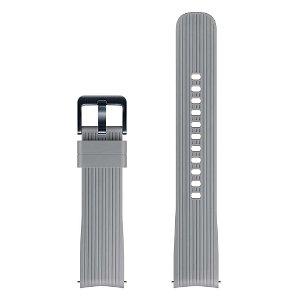 Original Samsung Watch Active Silikon Reim (ET-YSU81MJ) (20mm) - Grå