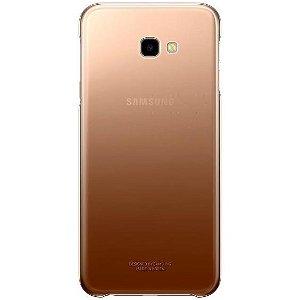 Original Samsung Galaxy J4+ Ultra-thin and Light Gradation Case Gold (EF-AJ415CFEGWW)