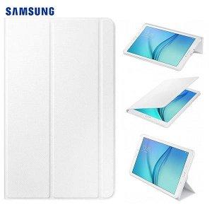 Samsung Galaxy Tab E 9.6 Original Samsung Book Deksel (EF-BT560BW) Hvit