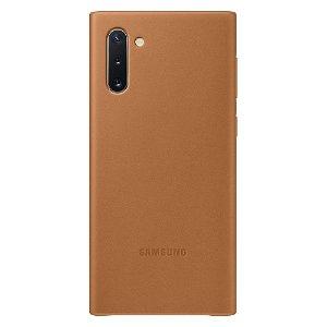 Original Samsung Galaxy Note10 Leather Case EF-VN970LAEGWW - Brun