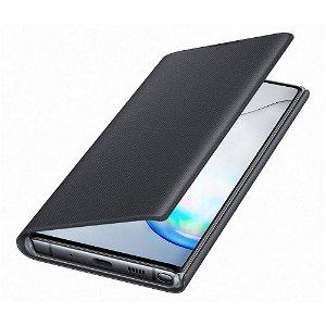 Original Samsung Galaxy Note10 LED View Case med Lommebok - EF-NN970PBEGWW - Svart