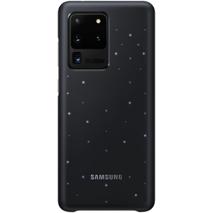 Original Samsung Galaxy S20 Ultra LED Case EF-KG988CB - Svart