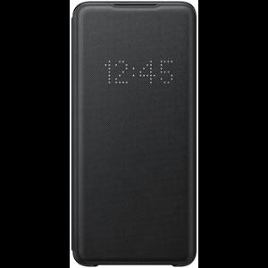 Original Samsung Galaxy S20 LED View Case med Lommebok - EF-NG980PB - Svart