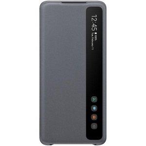 Original Samsung Galaxy S20+ Clear View Deksel EF-ZG985CJ - Grå