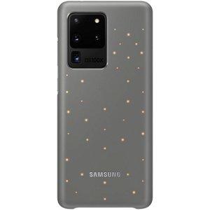 Original Samsung Galaxy S20 Ultra LED Case EF-KG988CJ - Grå