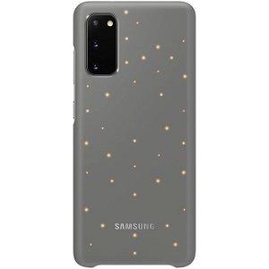 Original Samsung Galaxy S20 LED Case EF-KG980CJ - Grå