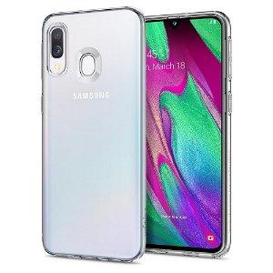 Samsung Galaxy A40 Spigen Case Liquid Crystal - Gjennomsiktig