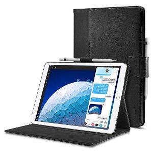 iPad Air (2019) Deksel - Spigen Stand Folio Case - Black