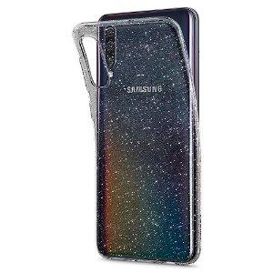 Spigen Samsung Galaxy A30s / A50 Case Liquid Crystal Glitter Gjennomsiktig