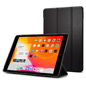 "iPad 10.2"" (2021 / 2020 / 2019) Deksel - Spigen smart Fold Case - Svart"