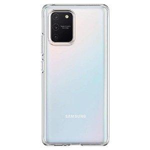 Spigen Liquid Crystal Samsung Galaxy S10 Lite Deksel - Gjennomsiktig