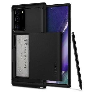 Samsung Galaxy Note 20 Ultra Spigen Slim Armor CS Deksel - Svart