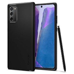 Samsung Galaxy Note 20 Spigen Thin Fit Deksel - Svart