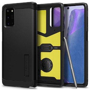 Samsung Galaxy Note 20 Spigen Tough Armor Deksel - Black