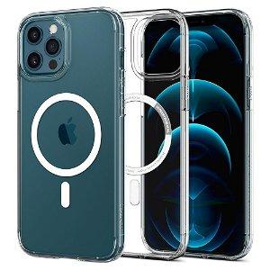 iPhone 12 / 12 Pro Spigen Ultra Hybrid Deksel - MagSafe Kompatibel - Gjennomsiktig