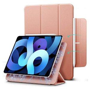 iPad Air (2020) ESR Rebound Magnetic Deksel - Rose Gold
