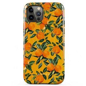 Burga iPhone 12 Pro Max Tough Fashion Deksel - Orange Lemonade