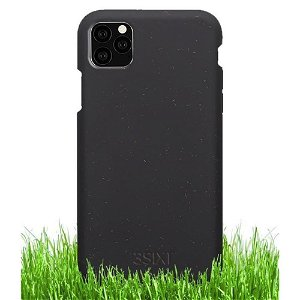 3SIXT iPhone 11 Pro Deksel - Biofleck Miljøvennlig - 100% Plantebaseret - Svart