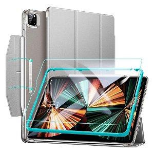 "iPad Pro 12.9"" (2021) ESR Ascend ESR Ascend Tri-Fold Deksel - Skjermbeskytter - Grå"