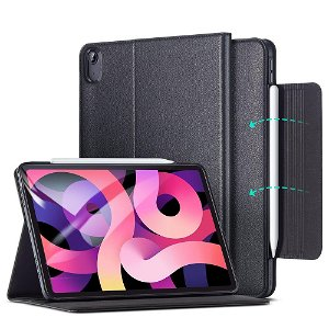 iPad Air (2020) Deksel - ESR Director Business Case Deksel - Sort