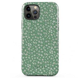 Burga iPhone 12 Pro Max Tough Fashion Deksel - Lush Meadows