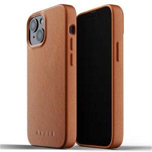 Mujjo iPhone 13 Mini Vegan Leather Deksel - Brun