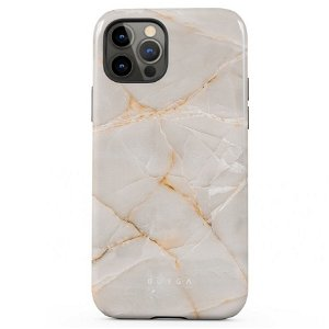 Burga iPhone 12 Pro Max Tough Fashion Deksel - Vanilla Sand