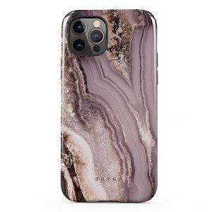Burga iPhone 12 / 12 Pro Tough Fashion Deksel - Golden Taupe
