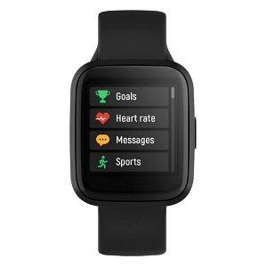Forever ForeVigo 2 SW-310 Fitness Smartwatch med Pulsmåler & Skritteller - Svart