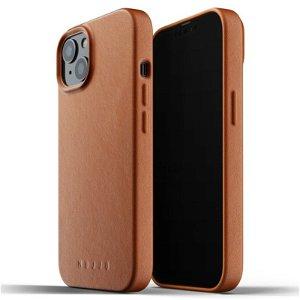 Mujjo iPhone 13 Vegan Leather Deksel - Brun