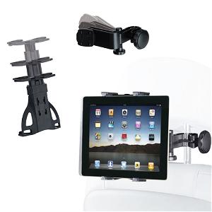 """Universal Headrest Nettbrett Kit 7-10.1"""" - Svart"""
