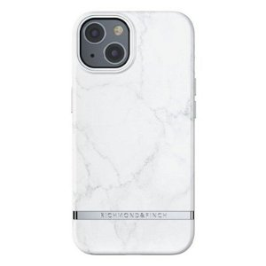 Richmond & Finch iPhone 13 Freedom Deksel - White Marble