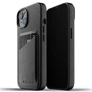 Mujjo iPhone 13 Vegan Leather Wallet Deksel - Svart