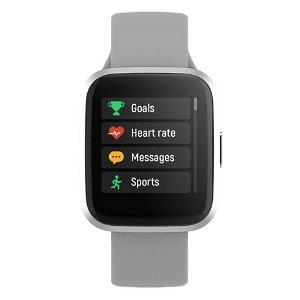 Forever ForeVigo 2 SW-310Fitness Smartwatch med Pulsmåler & Skritteller - Sølv