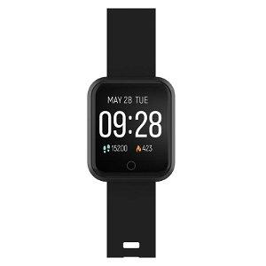Forever ForeVigo SW-300 Fitness Smartwatch med Pulsmåler & Skritteller - Svart