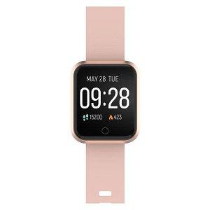 Forever ForeVigo SW-300 Fitness Smartwatch med Pulsmåler & Skritteller - Rose Gold