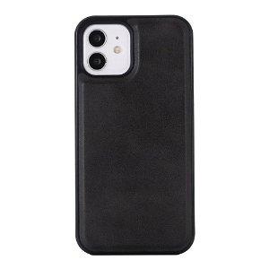 iPhone 12 Mini Skinndekket plastdeksel - MagSafe-kompatibel - Svart