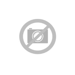 iPhone 12 Pro Max Plastdeksel Skinnpolstret - MagSafe Kompatibel - Svart